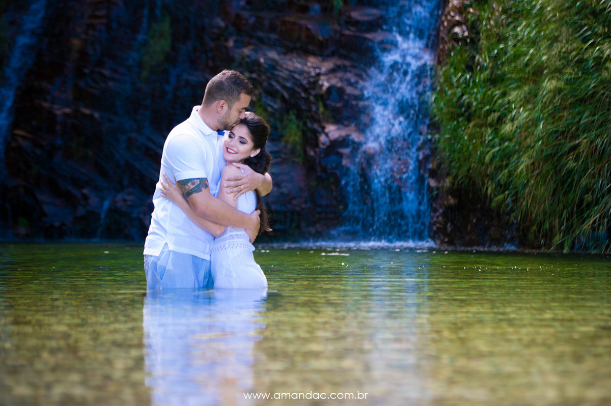 Foto de Aline e Guilherme