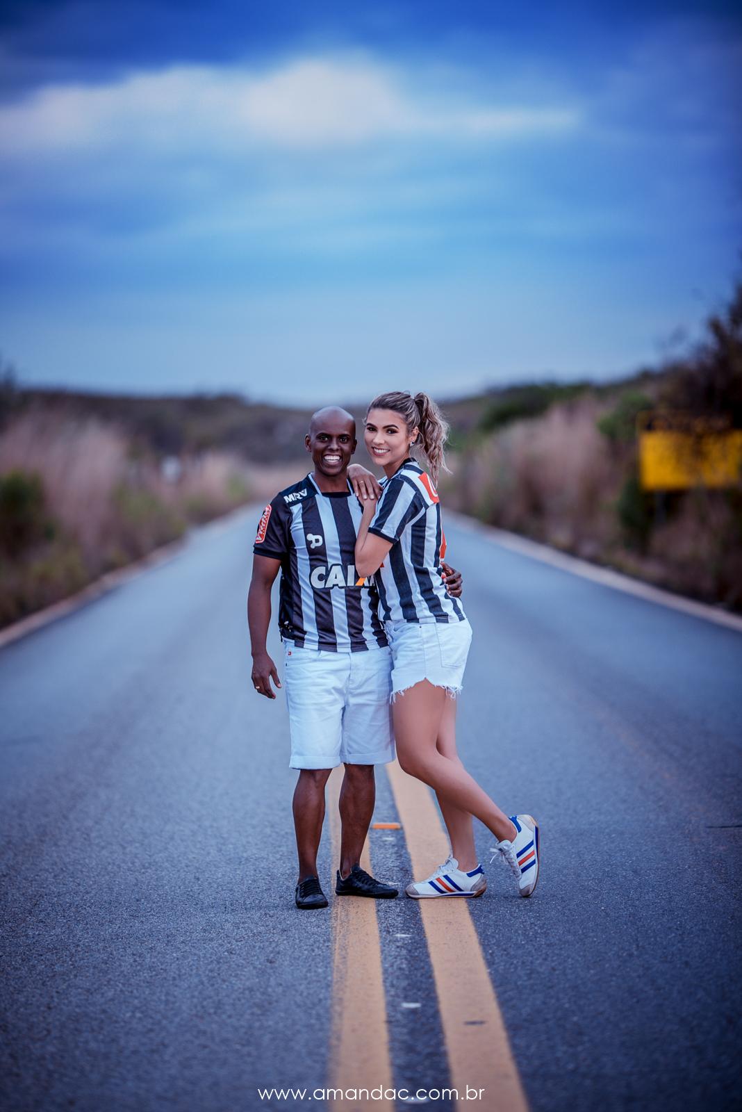Foto de Raquel e Edgard