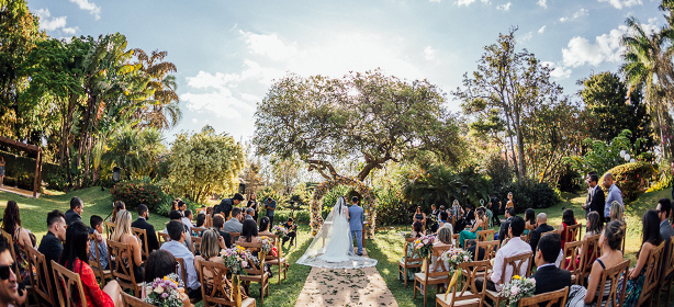 Imagem capa - Locais de Casamento ao Ar Livre por Dennis Araya Chavarria