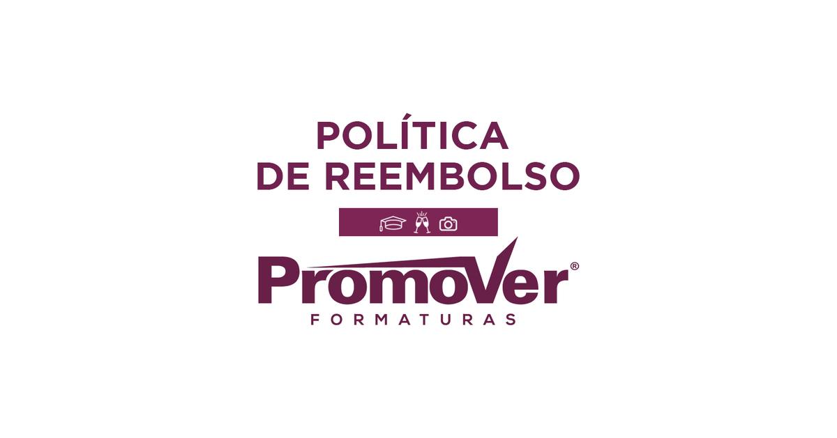Imagem capa - Política de reembolso. por Promover Formaturas
