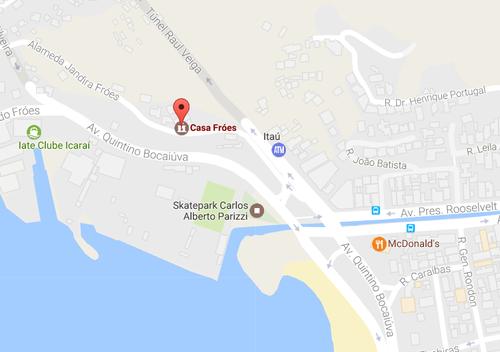 Contate Casa Fróes  em São Francisco Niteroi - Espaço para eventos com vista para o mar - Casamento - 15 anos - Eventos Corporativos
