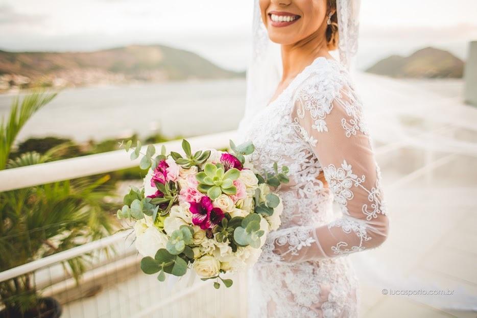 Imagem capa - Buquês: O estilo das noivas em forma de flores por Casa Fróes