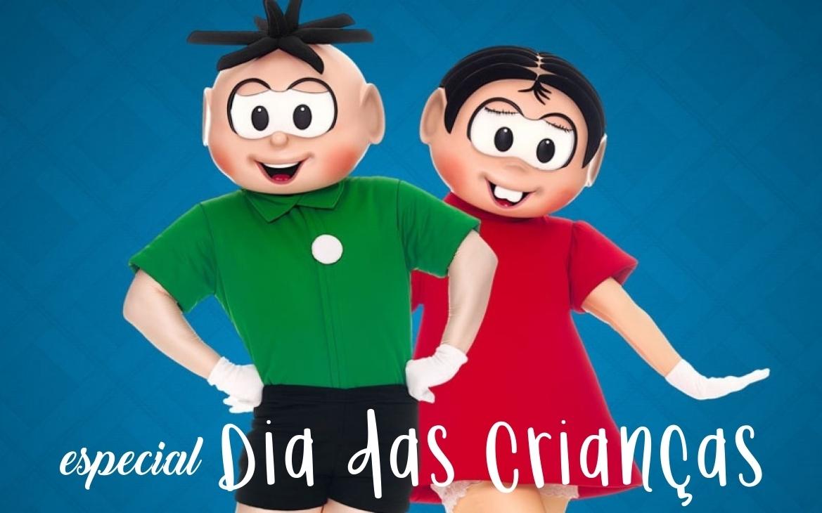 94bb964815c10 Imagem capa - Sessão de Fotos Gratuita com Mônica e Cebolinha na Centauro  do Shopping Aricanduva