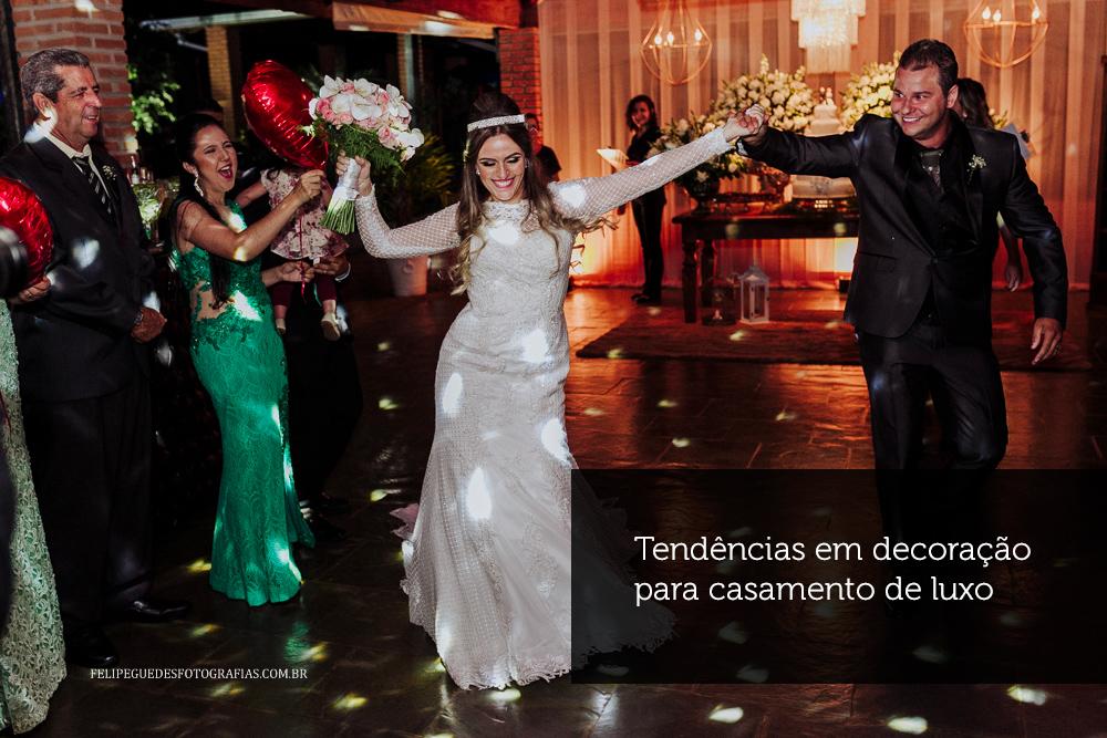 Imagem capa - Tendências em decoração para casamento de luxo por Felipe Guedes