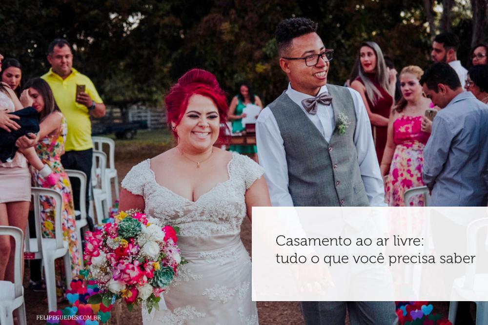 Imagem capa - Casamento ao ar livre: tudo o que você precisa saber por Felipe Guedes