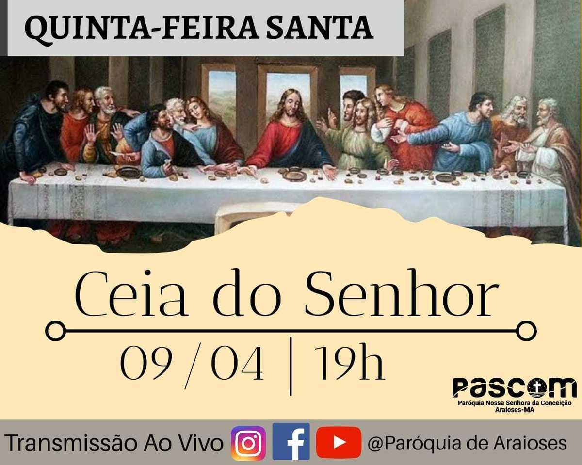 Imagem capa - AO-VIVO-SEMANA-SANTA-PAROQUIA-N.Sª- CONCEIÇÃO-ARAIOSES-MA/2020 por danielfotografia