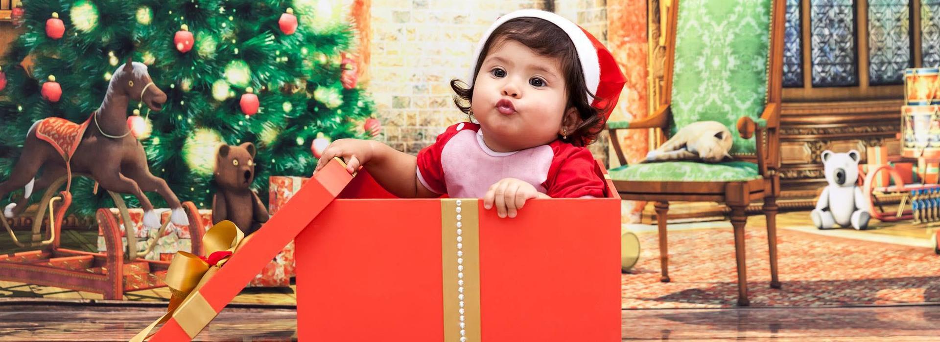 Temático - Natal de Yasmin - 1 ano em Itu / SP