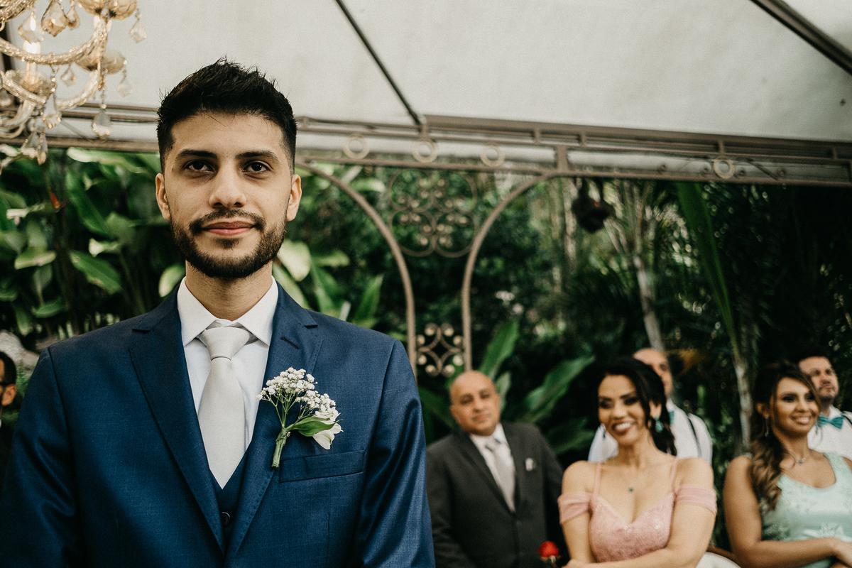 reação do noivo fotografia de casamento fotografia documental casamentos cristao inspiracao de casamento