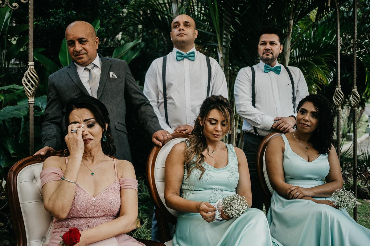 cerimonia ao ar livre casamento cristao fotografia de casamento noivos sorrindo fotografos de sao paulo mairipora fotos por caio henrique padrinhos madrinhas