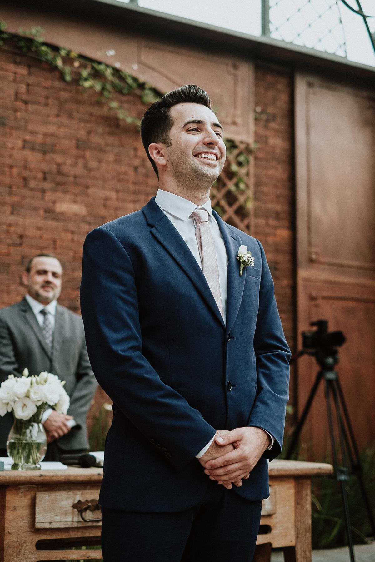 reacao do noivo elopement wedding casamento de dia fotos por caio henrique