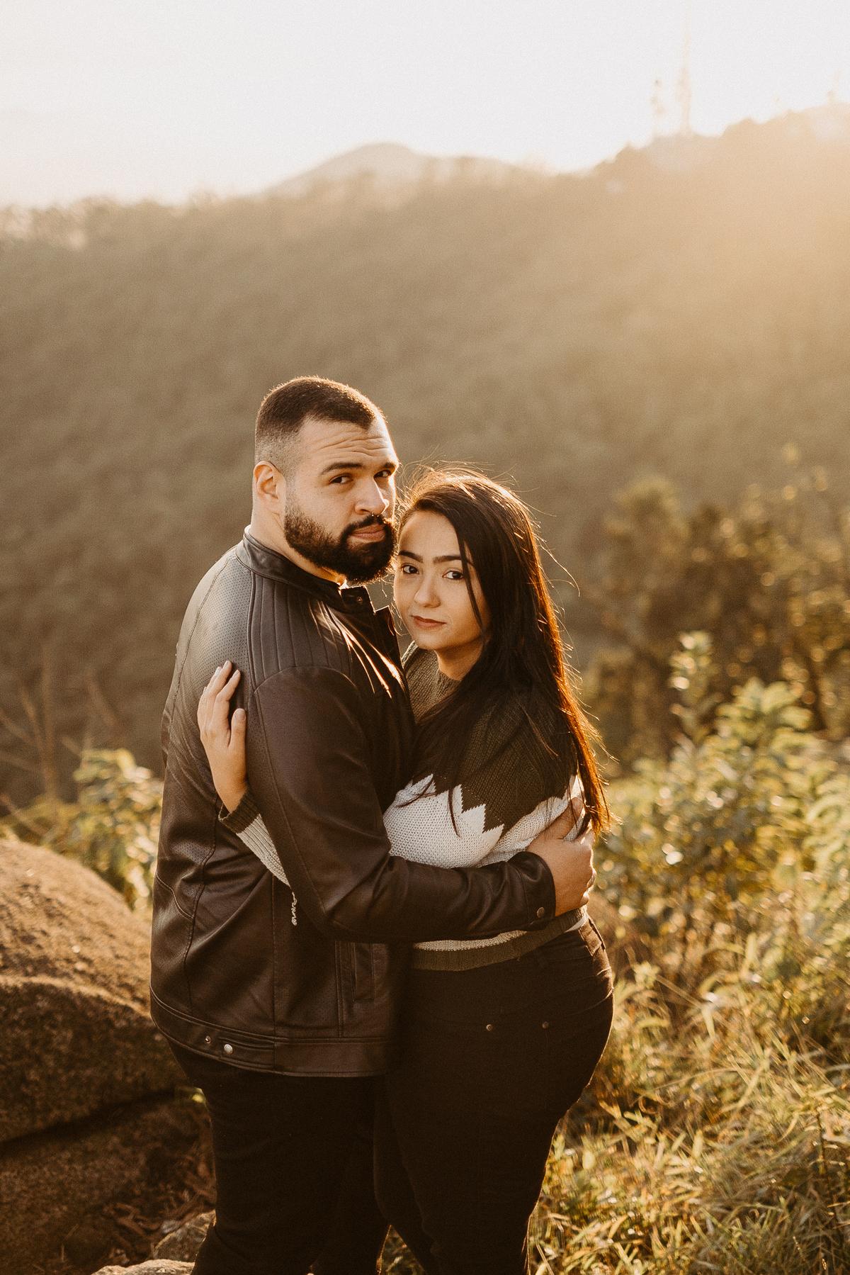 ensaio casal nascer do sol casamentos de dia cerimonia intimista mini wedding fotografia de casamento pico do urubu caioh foto