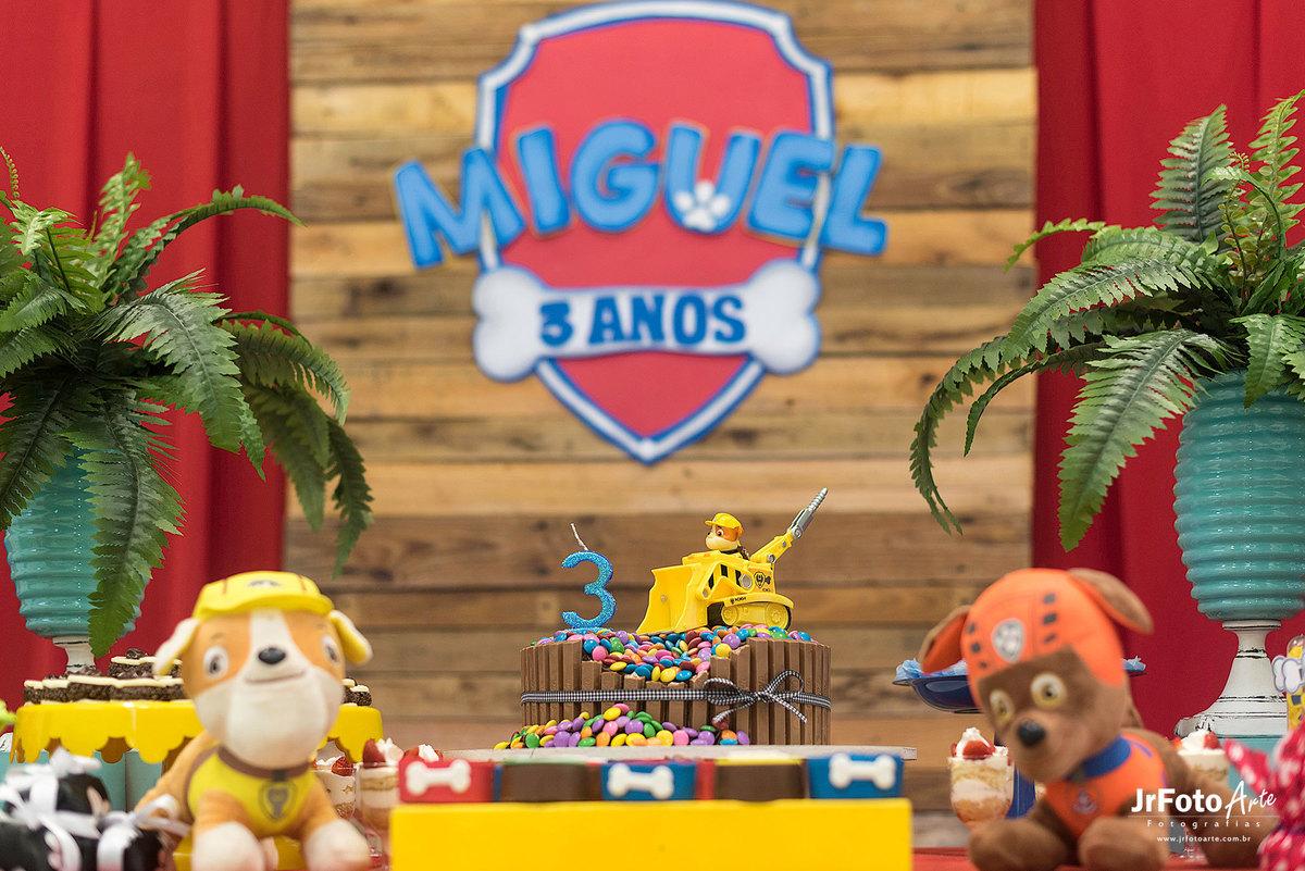 Imagem capa - Decoração - Miguel 3 anos. por José Júnior