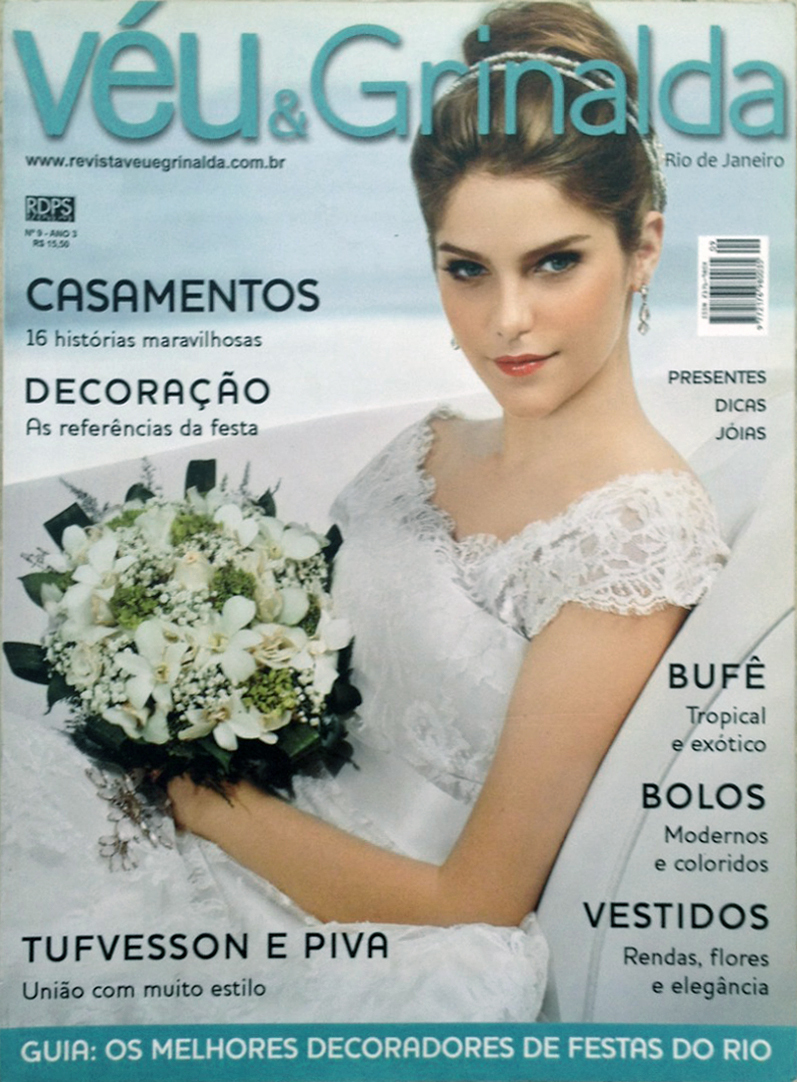 Imagem capa - Capa e editorial - Revista Véu & Grinalda por Fabio Bahiense