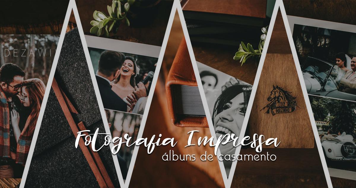 Imagem capa - Fotografia Impressa: Tudo sobre nossos álbuns de casamento por Luiz Mazinho