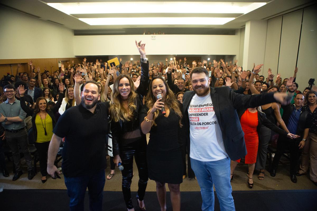 Imagem capa - Quarta temporada do Shark Tank Brasil é lançado por Camila Farani e Cris Arcangelli em painel de investimento no Rio de Janeiro por Camila Farani