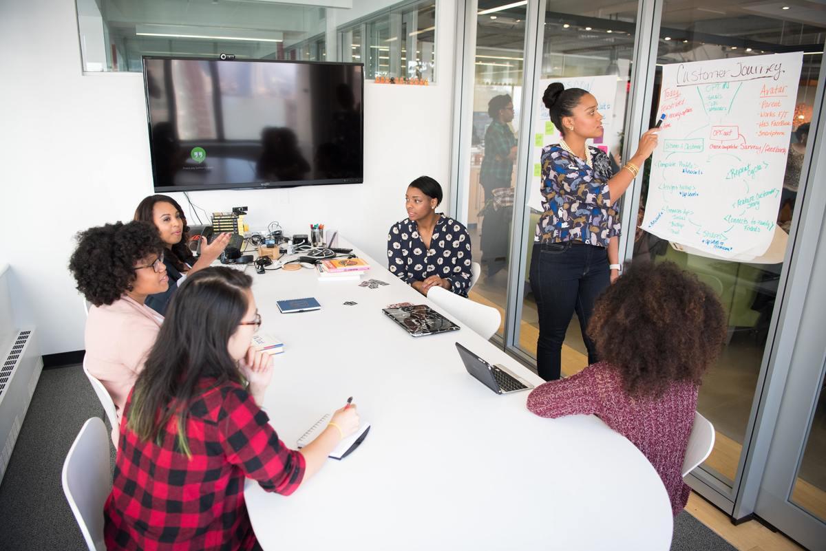 Imagem capa - As Lideranças Femininas estão revolucionando as startups! por Camila Farani