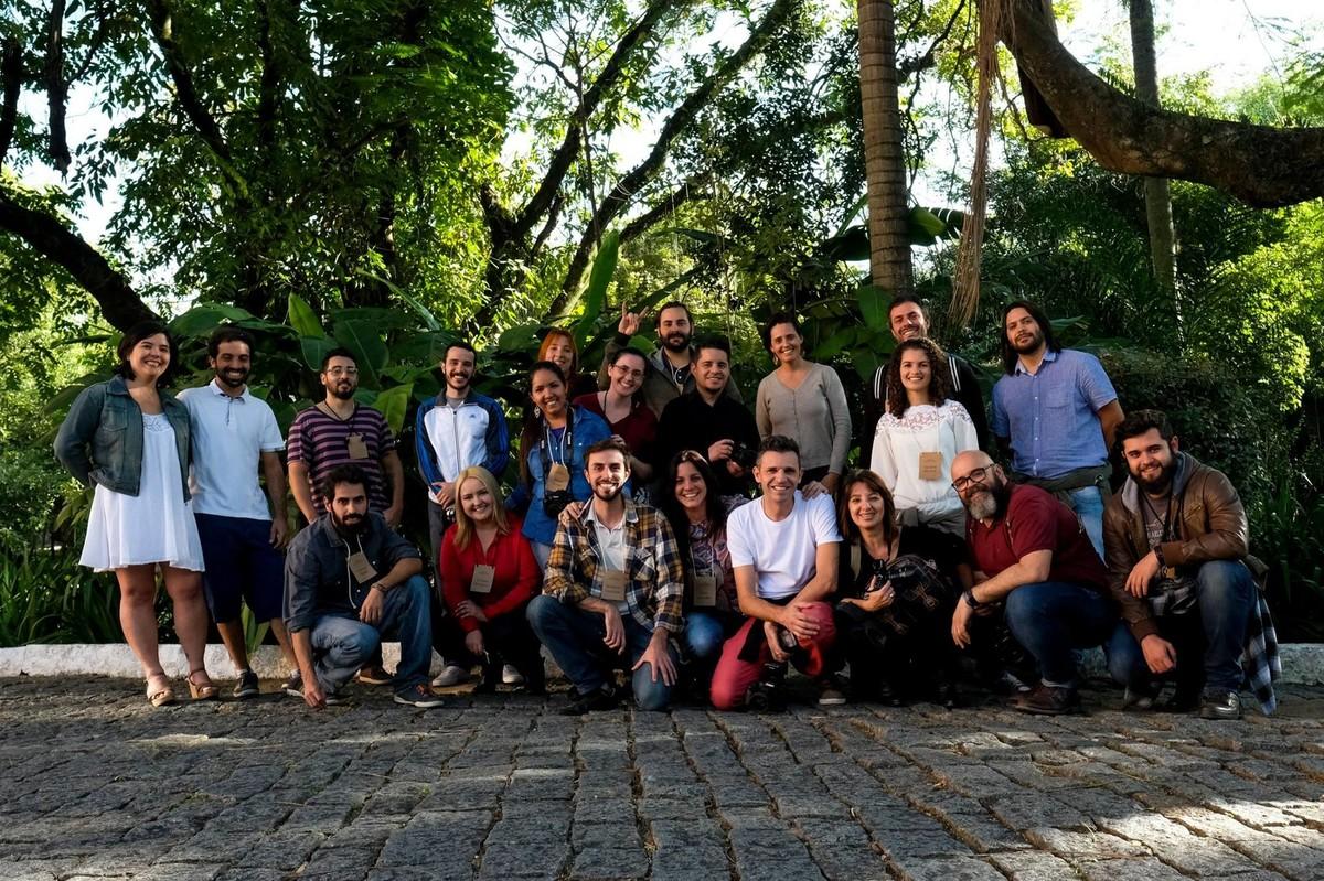 Foto de grupo da turma do ws de guaratingueta e aparecida.