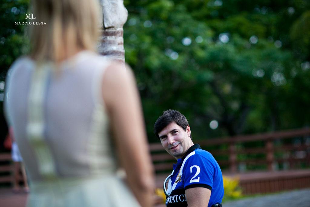 E não é que ela vai casar comigo?! Pre-Wedding no Parque Penhasco Dois Irmãos, Leblon, Rio de Janeiro, RJ, por Márcio Lessa | Fotografia