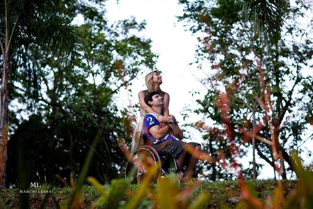 Uma história de amor! Pre-Wedding no Parque Penhasco Dois Irmãos, Leblon, Rio de Janeiro, RJ, por Márcio Lessa | Fotografia