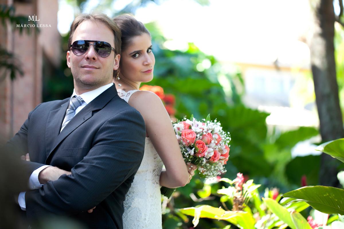 No estilo Sr e Sra Smith no Casamento Civil no Shopping Downtown na Barra da Tijuca RJ