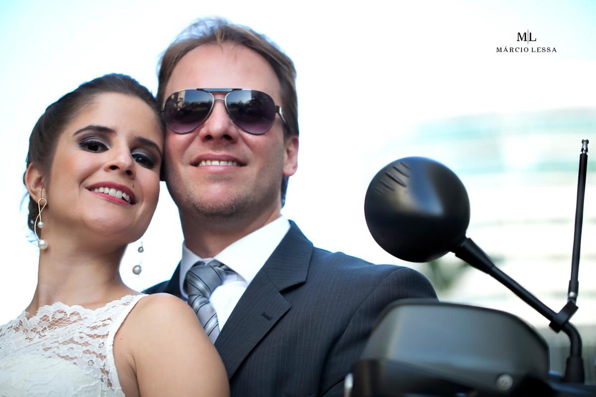 A felicidade dos noivos após o Casamento Civil no Shopping Downtown na Barra da Tijuca RJ