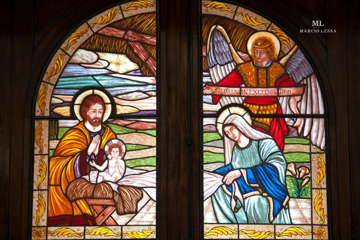 Vitral da Igreja Nossa Senhora da Conceição
