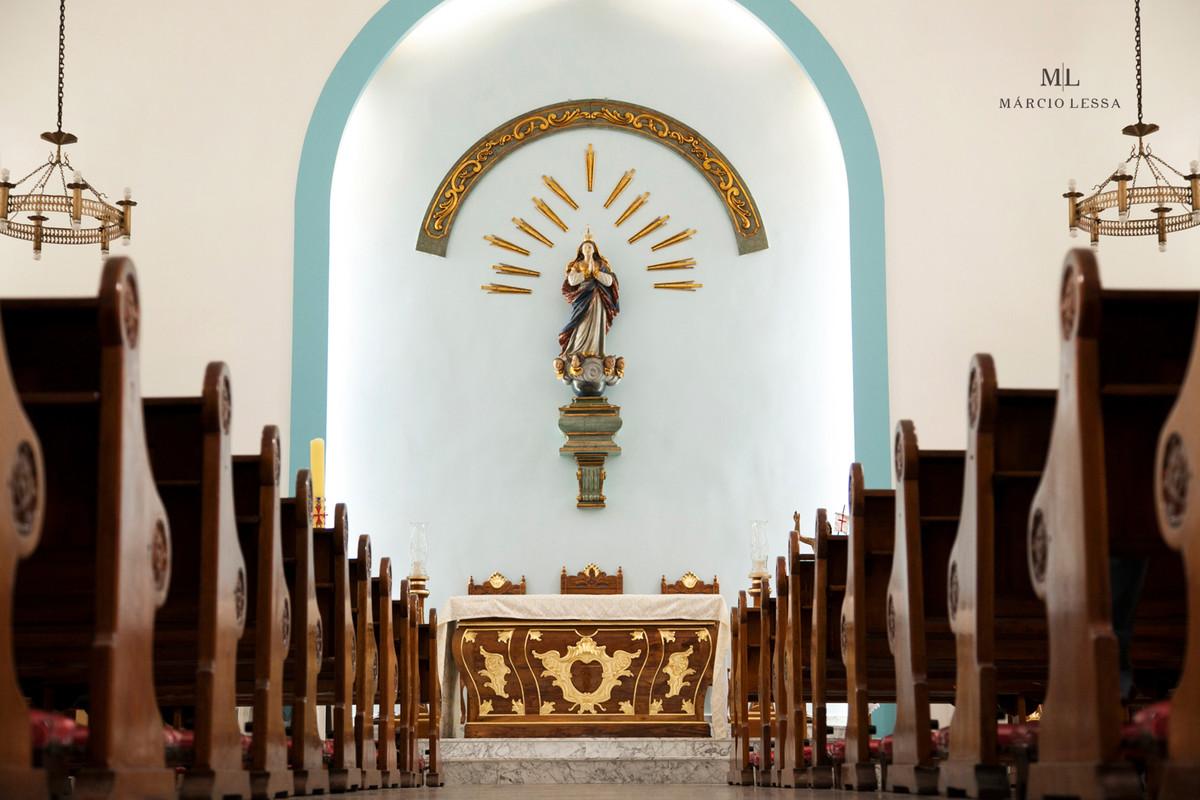 Interior da Igreja Nossa Senhora da Conceição