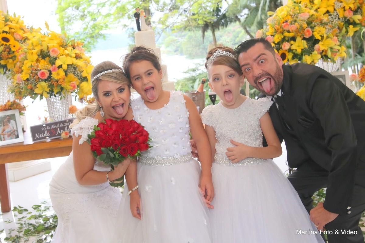 Crianças Casamento