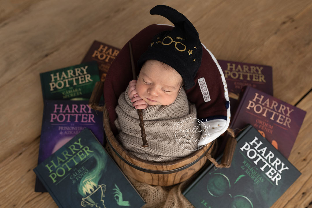 fã new born Harry Potter