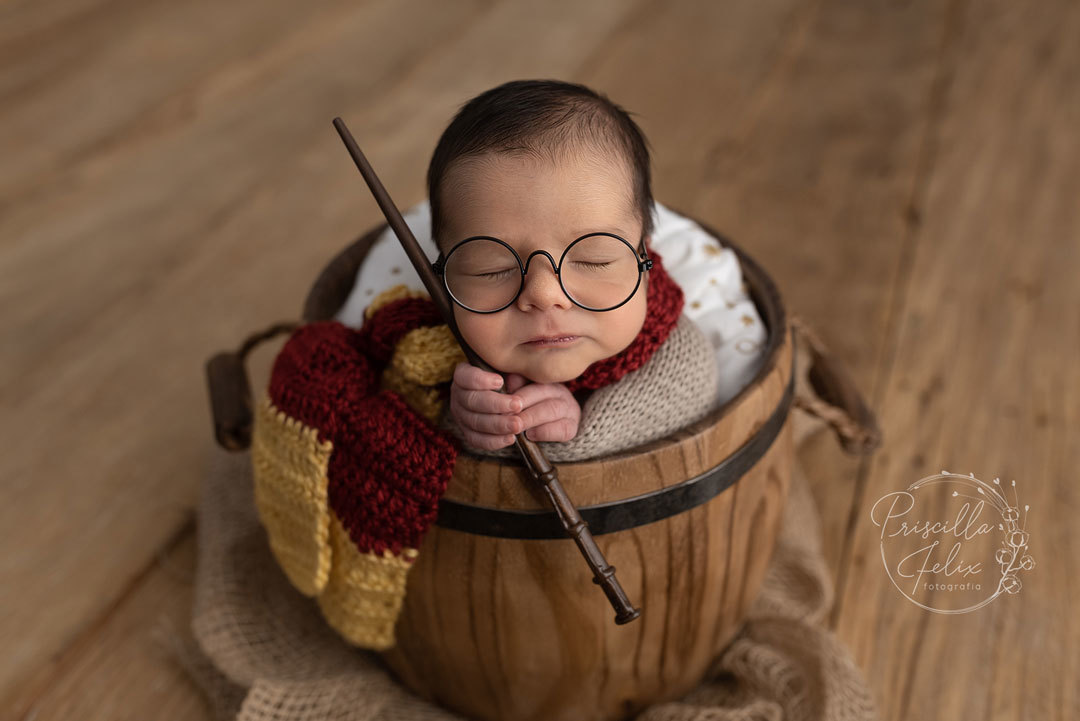 fã Harry Potter newborn