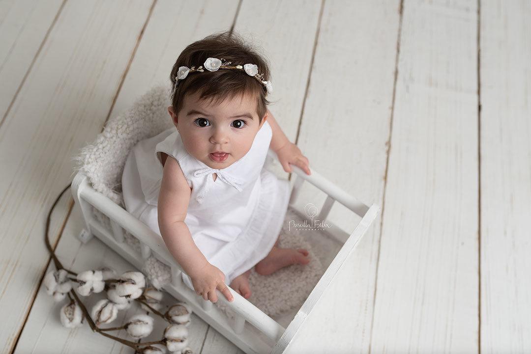 fotografia de acompanhamento do bebê