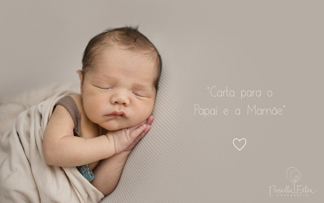 Imagem capa - Carta para o Papai e a mamãe por PRISCILLA FELIX FOTOGRAFIA