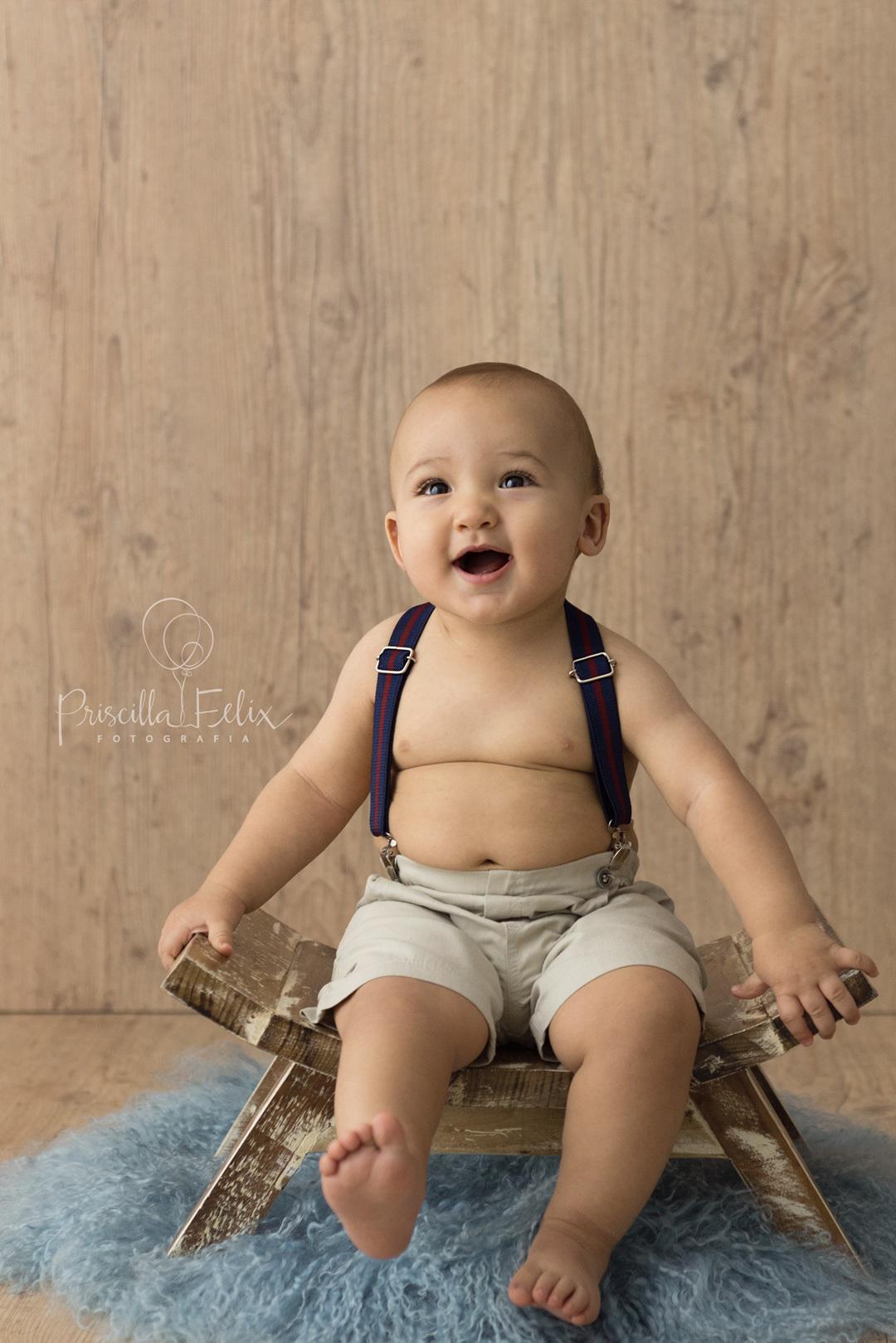 Imagem capa - Registre os primeiros anos do seu bebê por PRISCILLA FELIX FOTOGRAFIA