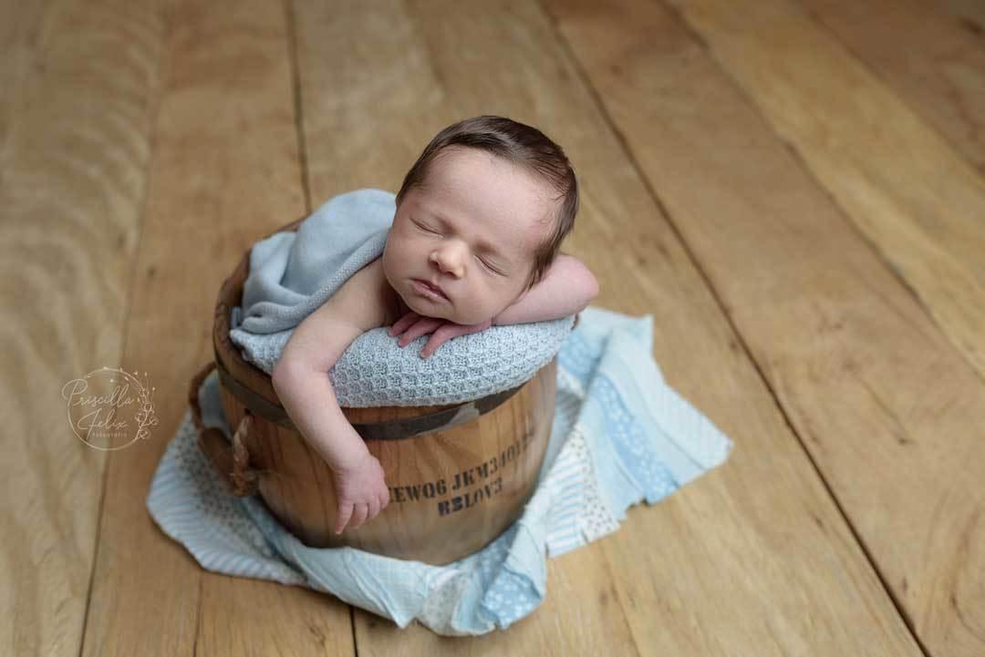 Imagem capa - Ensaio Newborn - a individualidade de cada recém-nascido por PRISCILLA FELIX FOTOGRAFIA