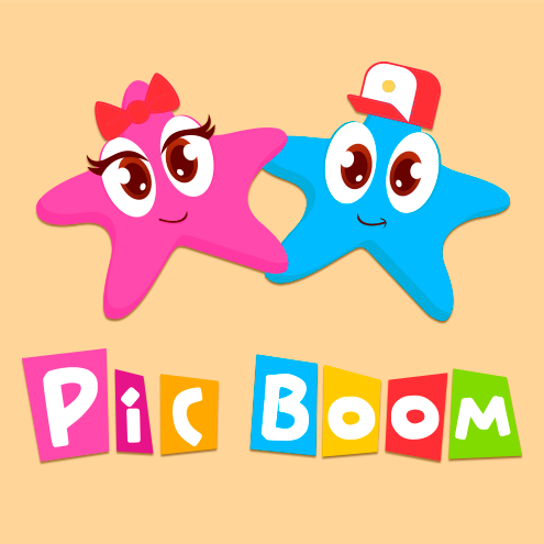 Logotipo de PicBoom