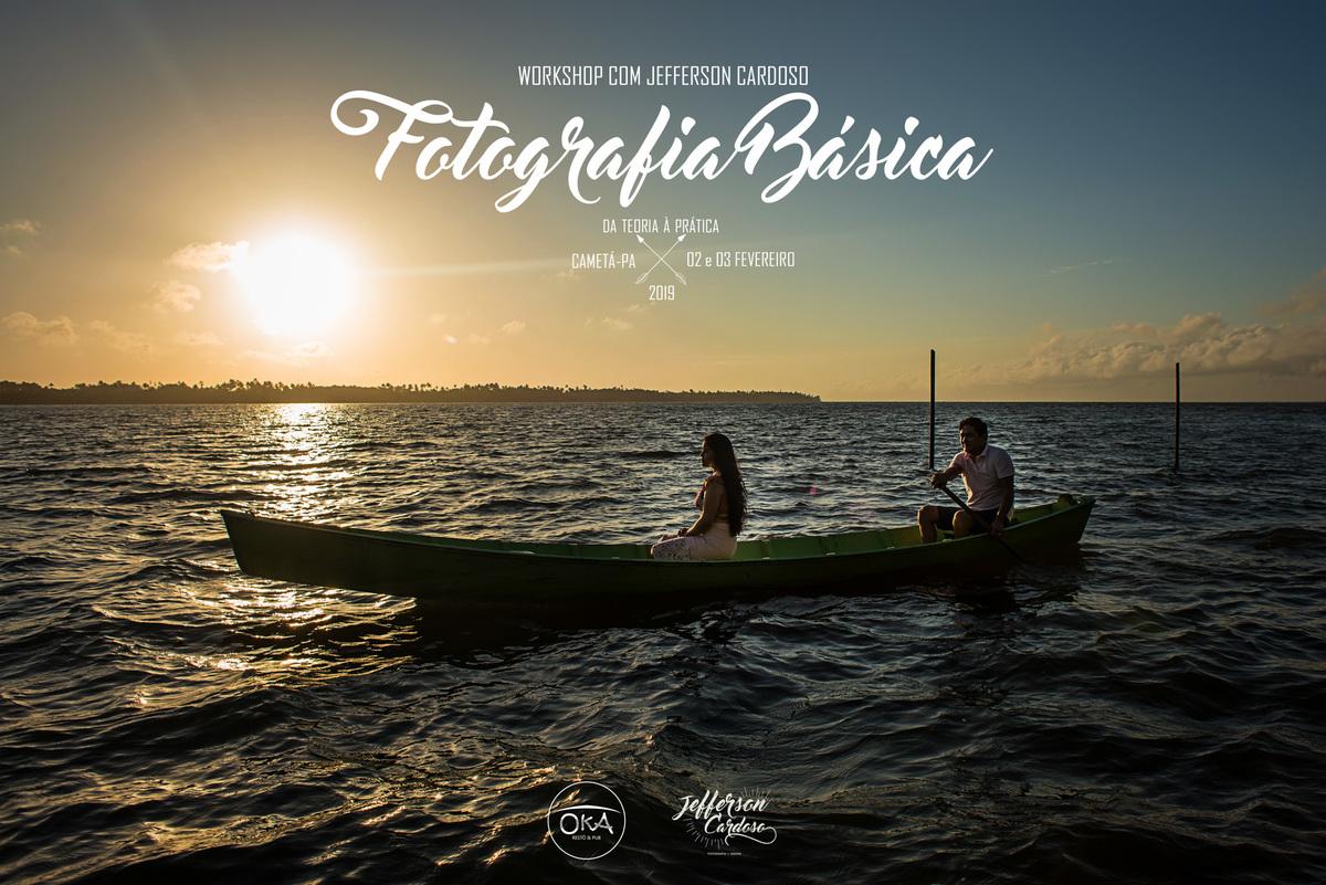 Imagem capa - WORKSHOP DE FOTOGRAFIA BÁSICA por Jefferson Cardoso