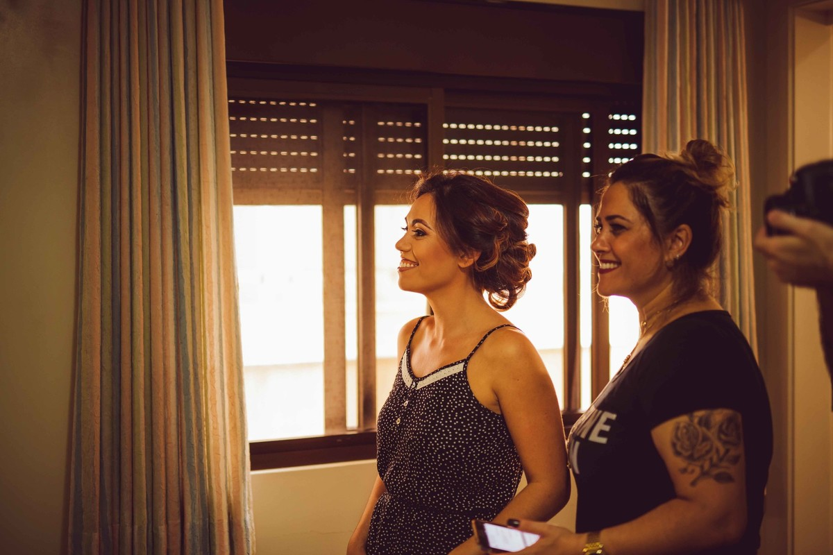 Foto de Francielle e Diogo