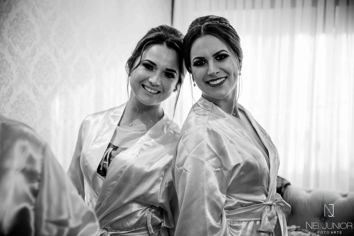 Foto de Cris e Fernanda