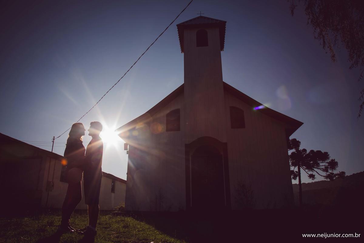 Foto de Dani e Ricardo