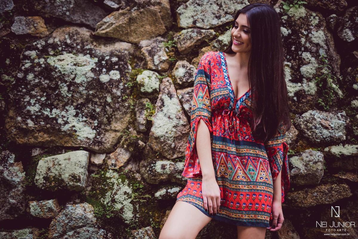Foto de Sessão 18 anos Camila Melotti