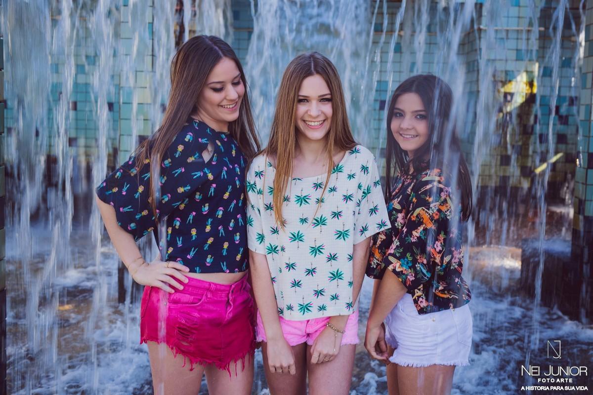 Foto de Sessão entre amigas Camila, Giovanna e Maria Eduarda