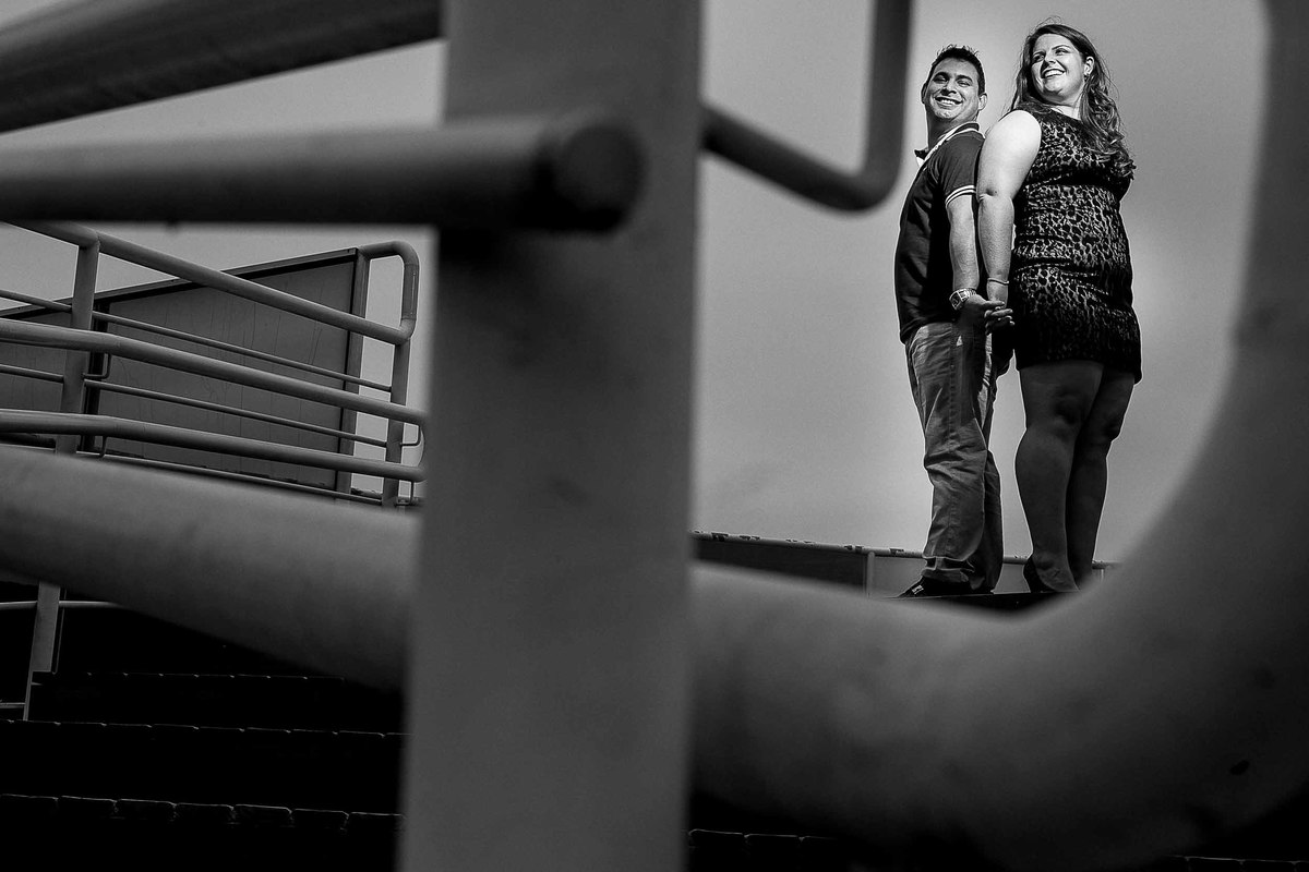 Foto de Thiago e Samira