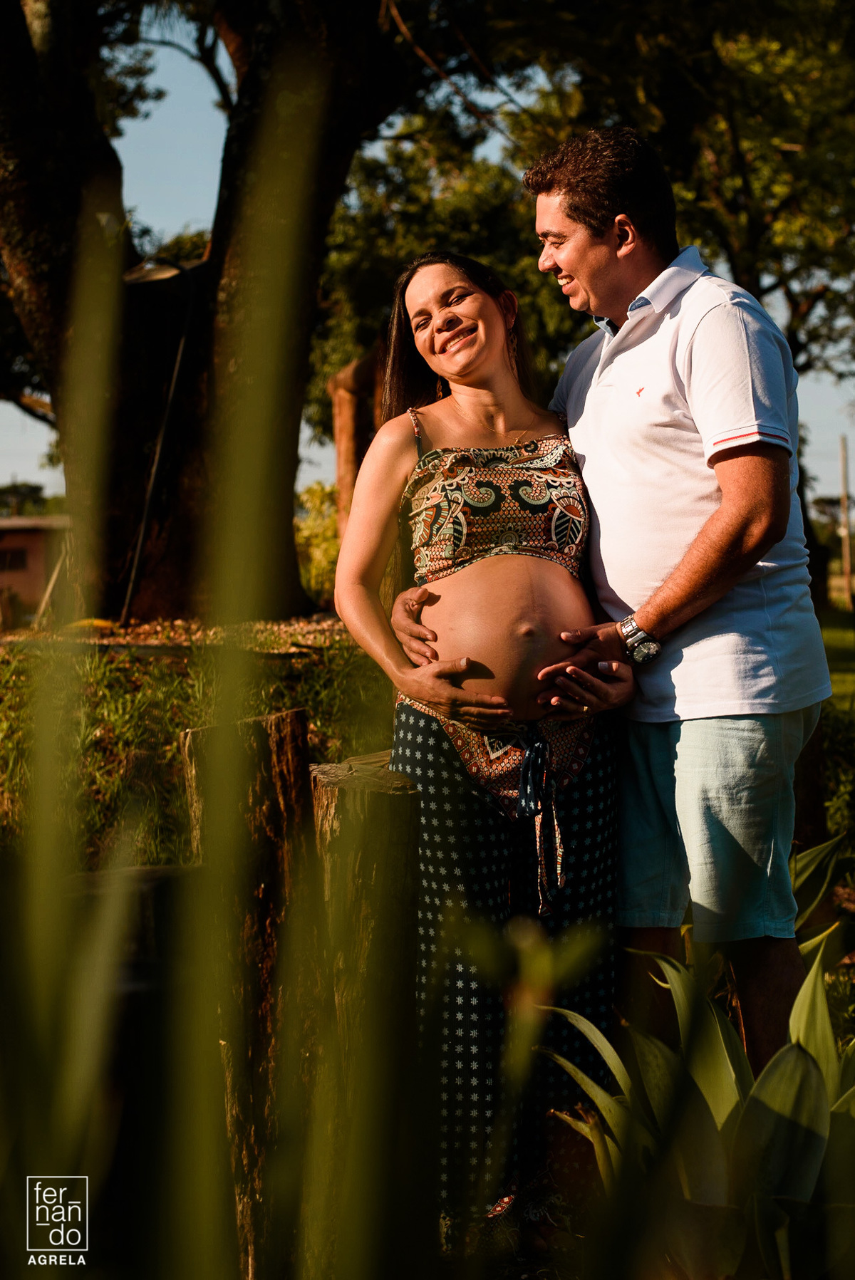 casal gestante em ensaio fotografico