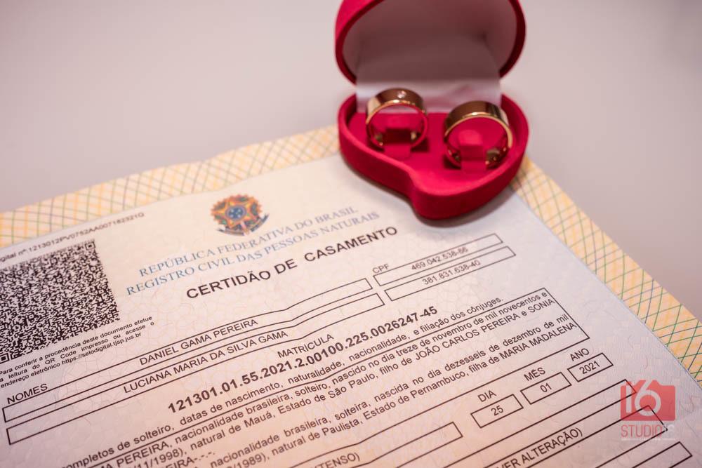 Imagem capa - Casamento civil: saiba o que é mais importante na organização por Studio16 Fotografia