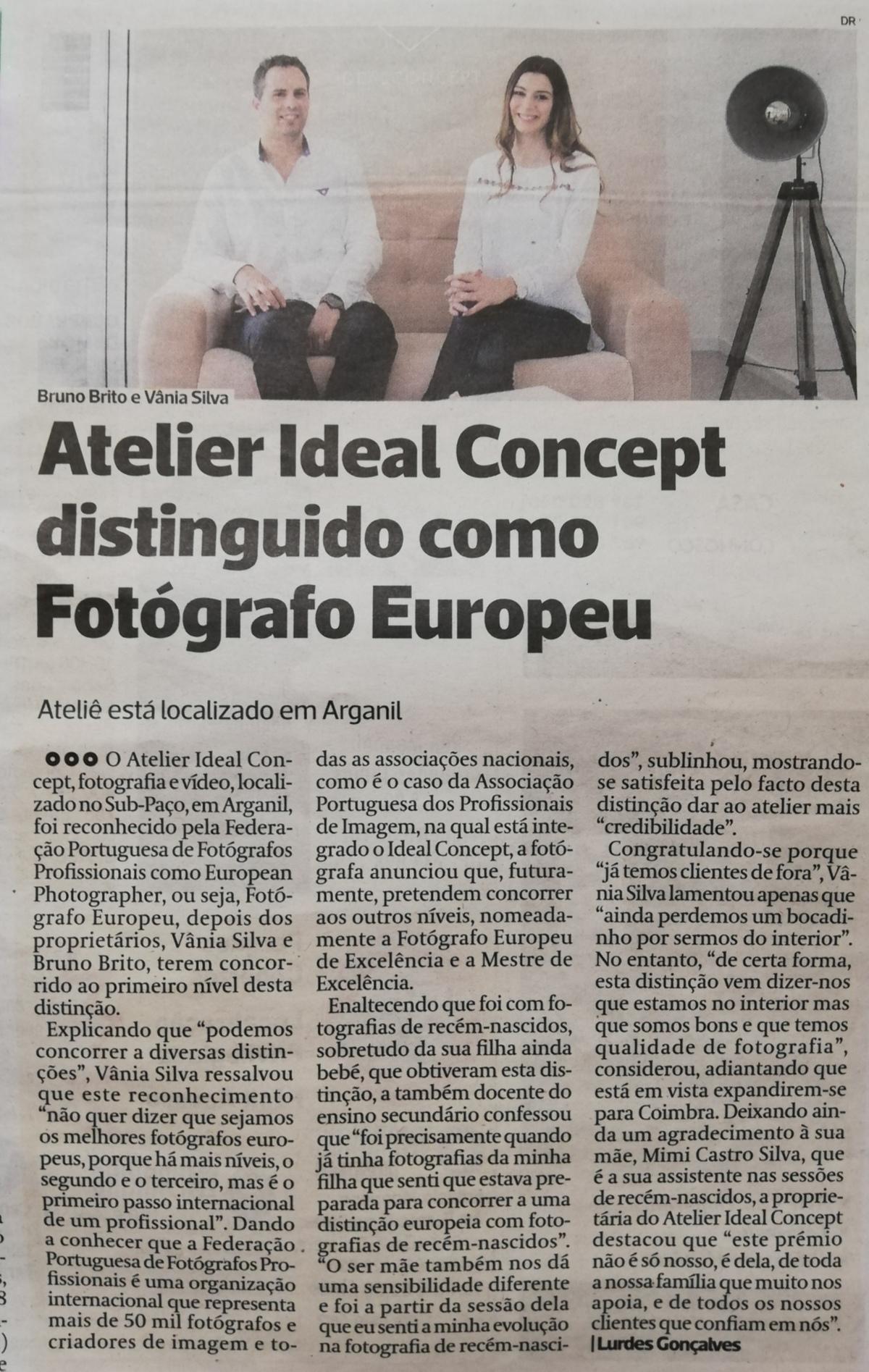 Imagem capa - Notícia no Diário as Beiras por Idealconcept ®