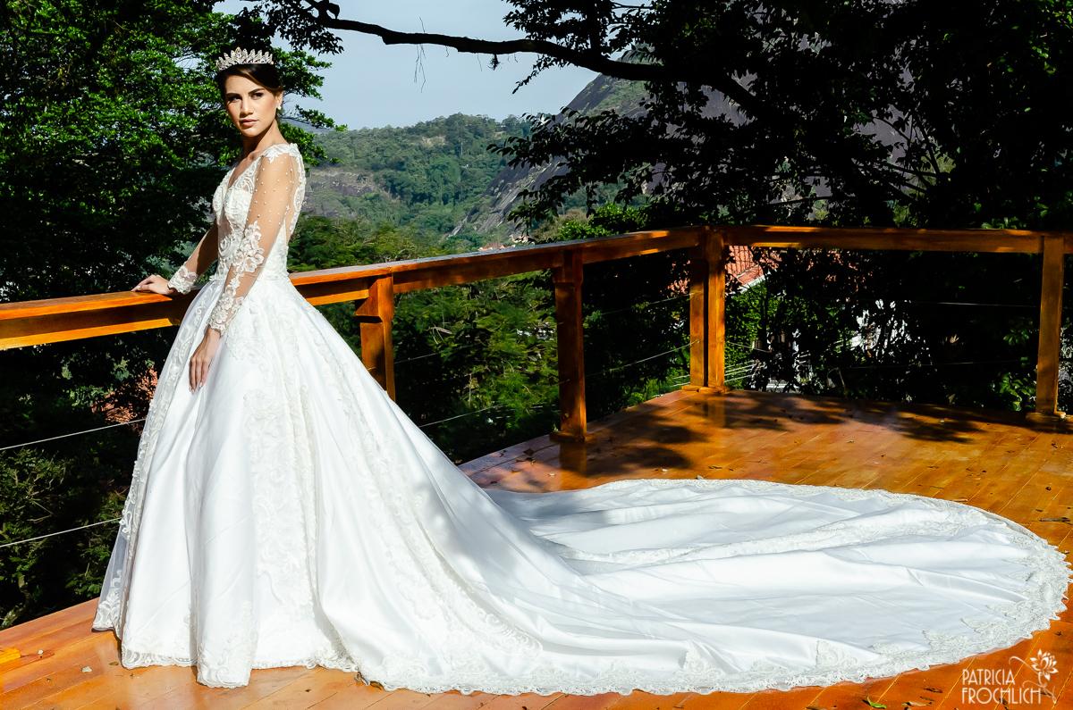 Imagem capa - Vestido de Noiva Princesa por Patricia Frochlich de Carvalho
