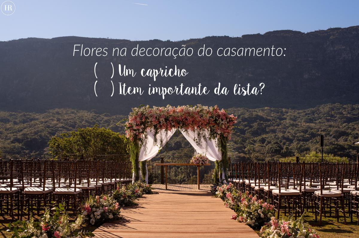 Imagem capa - Flores na decoração do casamento: Um capricho ou um item importante da lista? por Histórias Reais