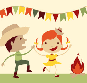 Imagem capa - Agenda de Festas Juninas no RJ por Aline Affonso