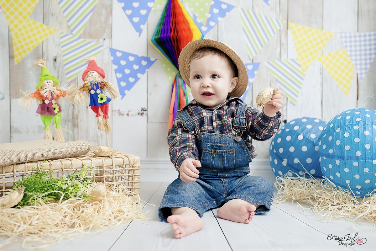 Acompanhamento De Bebês Gabriel 10 Meses Estúdio Rl Fotografias