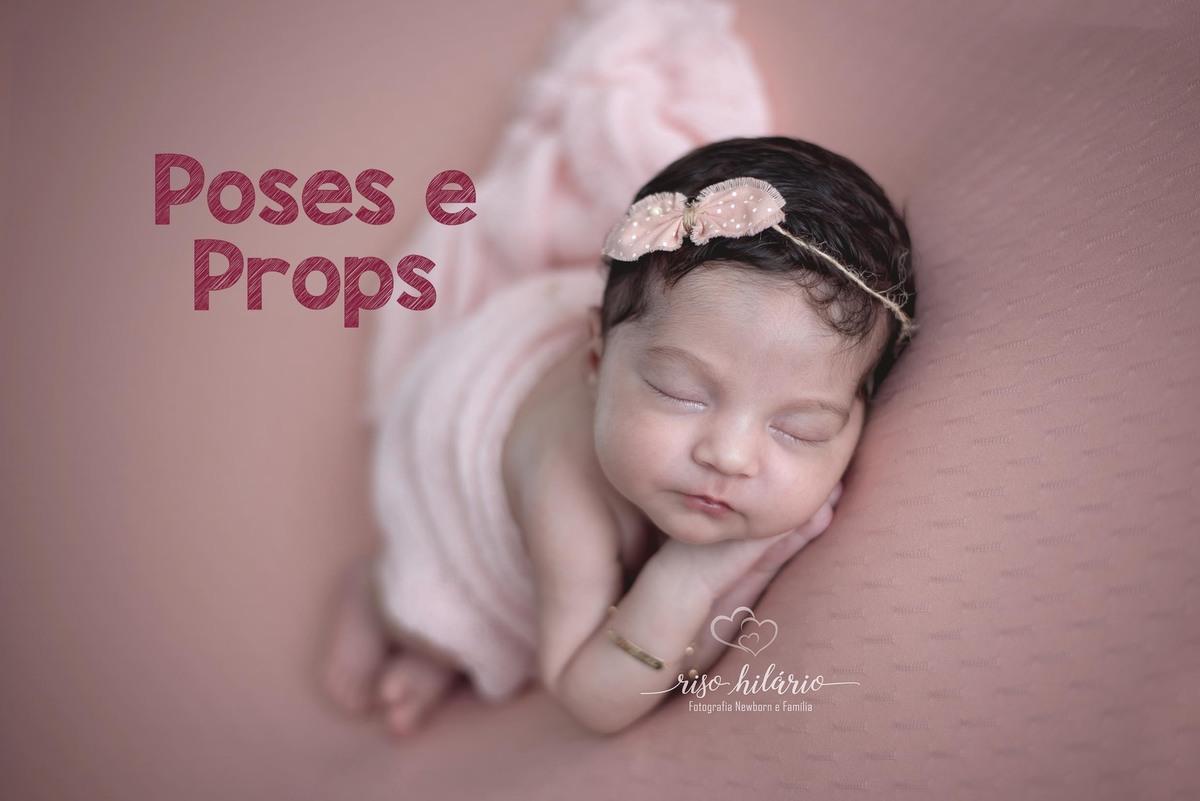 Imagem capa - Poses e Props Para o ensaio Newborn por RISOLETA DE CARVALHO HILARIO